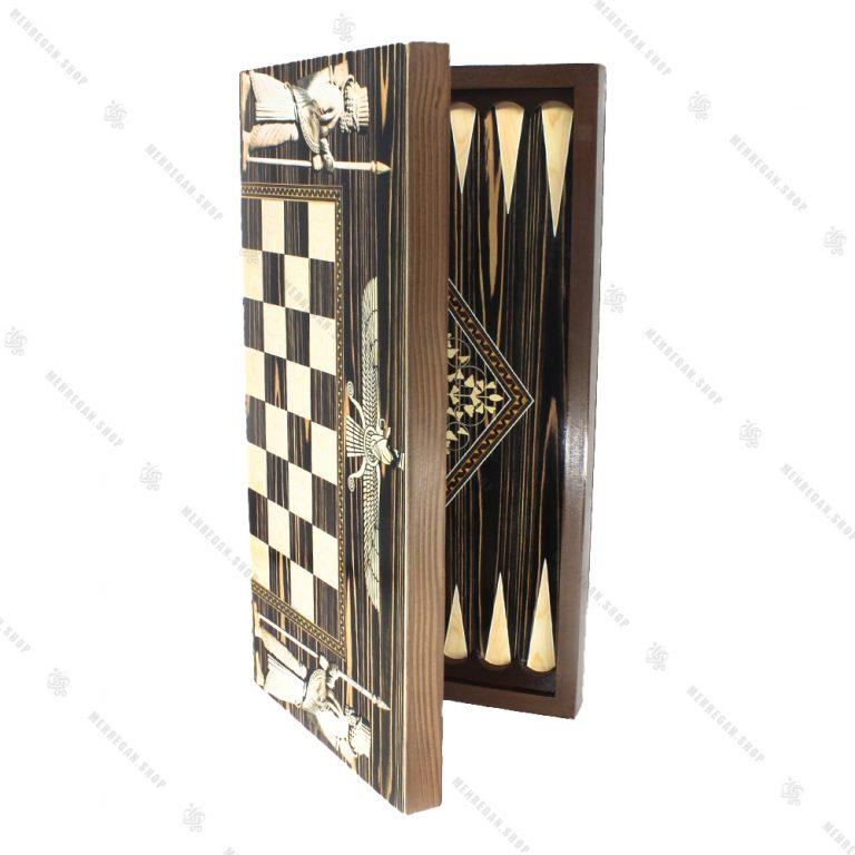 تخته نرد و صفحه شطرنج طرح سرباز هخامنشی
