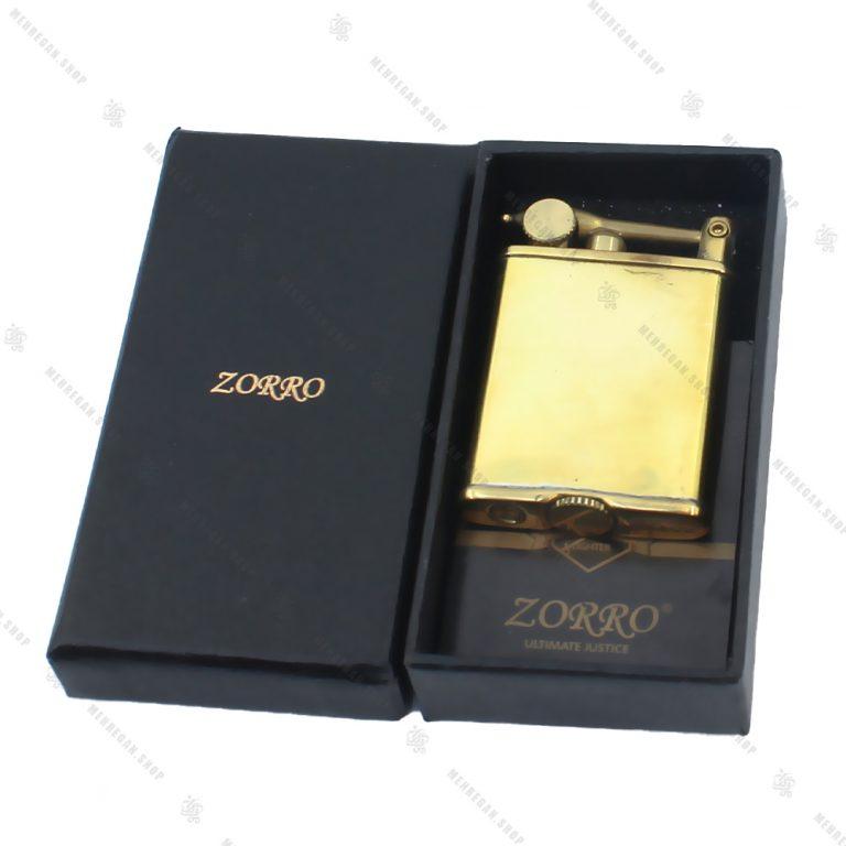 فندک بنزینی زورو Zorro مدل LIZO 2001-4
