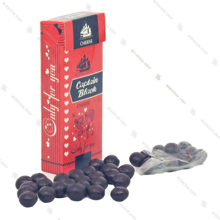 شکلات کادویی طرح سیگار کاپتان بلک قرمز