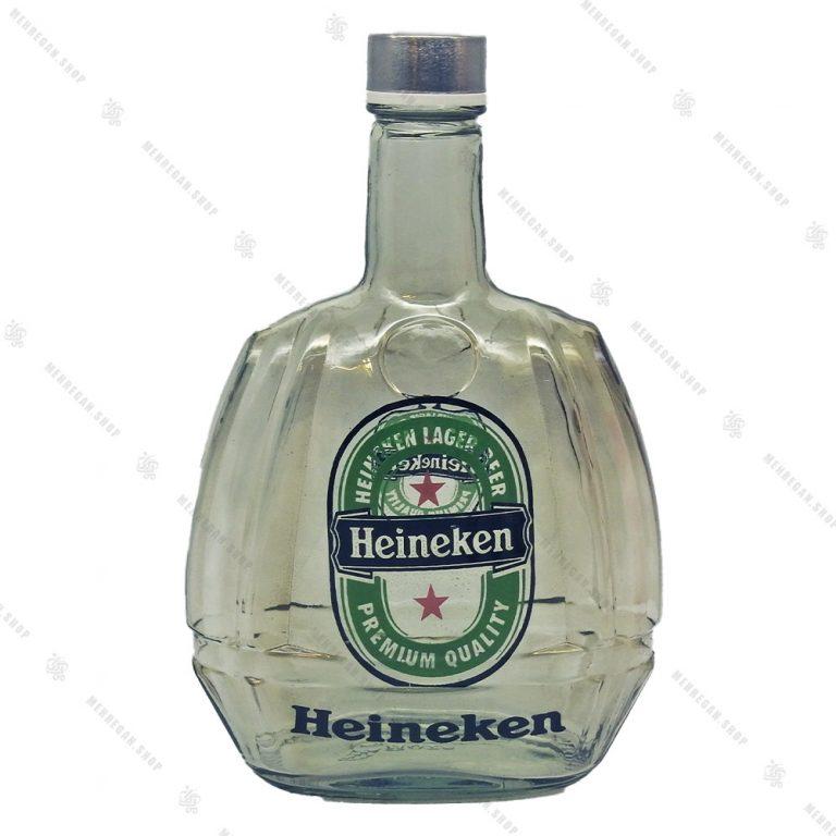 ست نوشیدنی با بطری شفاف مدل گرین اپل-Green Apple