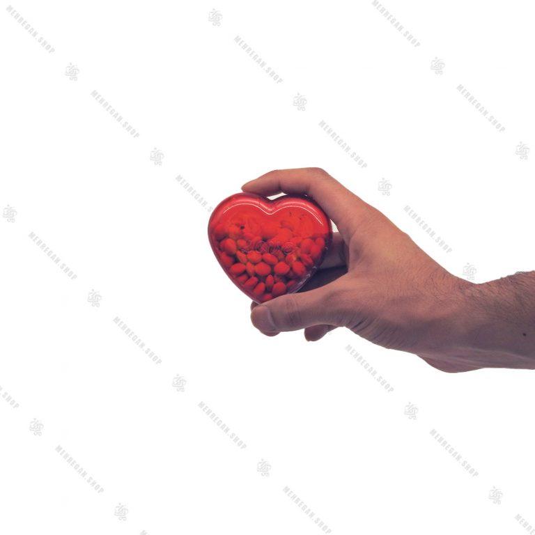 جعبه دراژه (اسمارتیز) کادویی طرح قلب