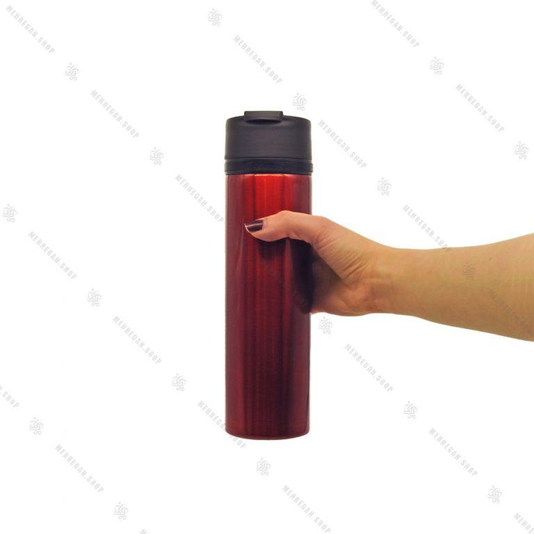 ماگ چای ساز بلند اورجینال استار باکس قرمز