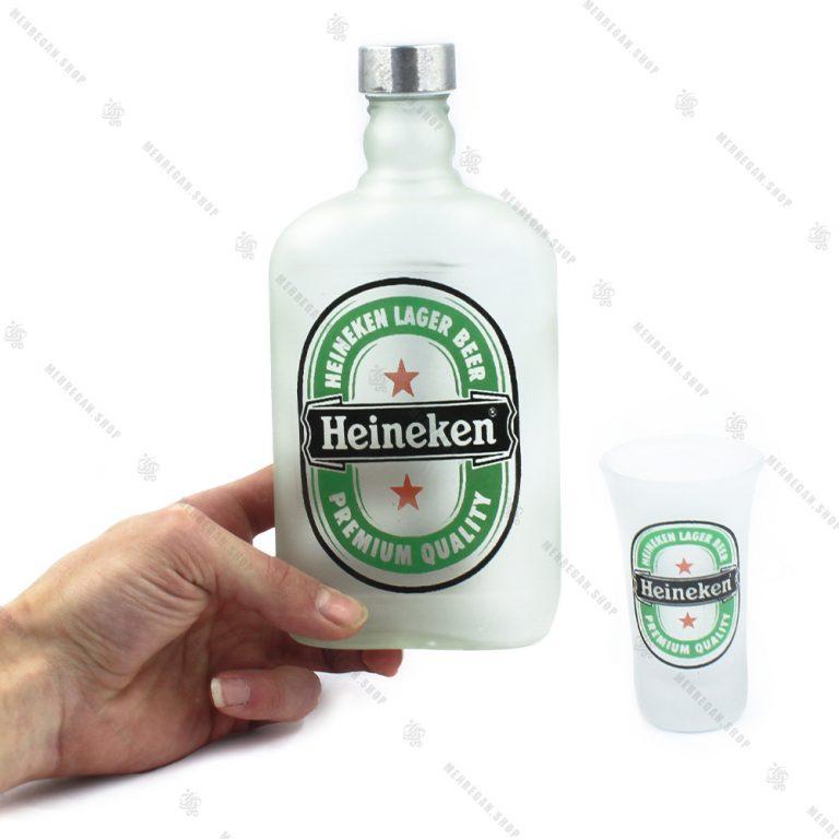 ست نوشیدنی مات ۴ عددی مدل گرین اپل-Green Apple