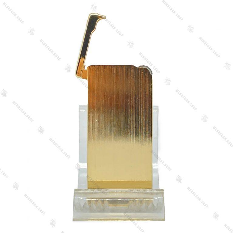 فندک باریک زورو Zorro مدل LIZO 2001-18 طلایی
