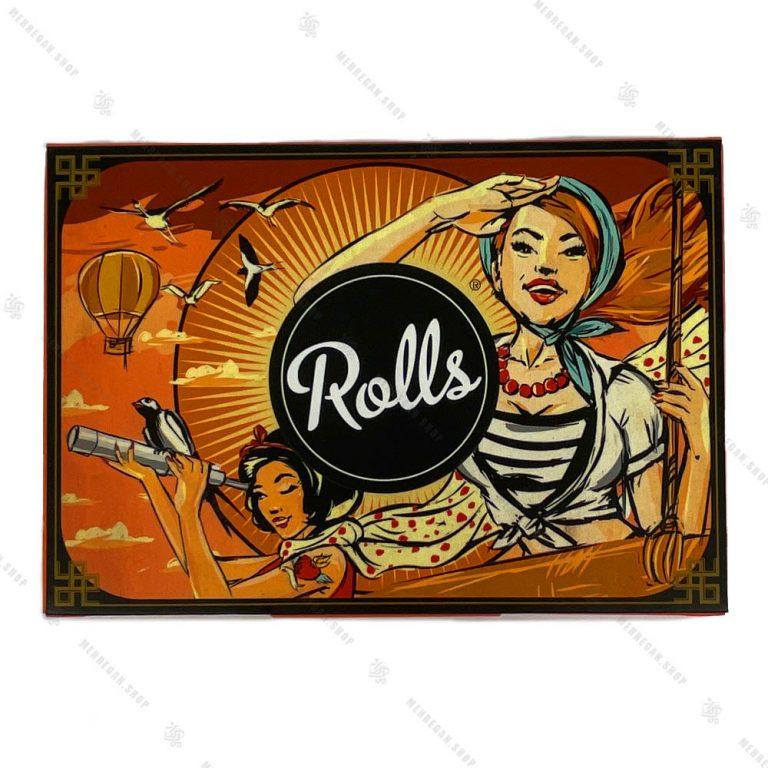 بسته ۸۰ عددی فیلتر سیگار آماده رولز Rolls