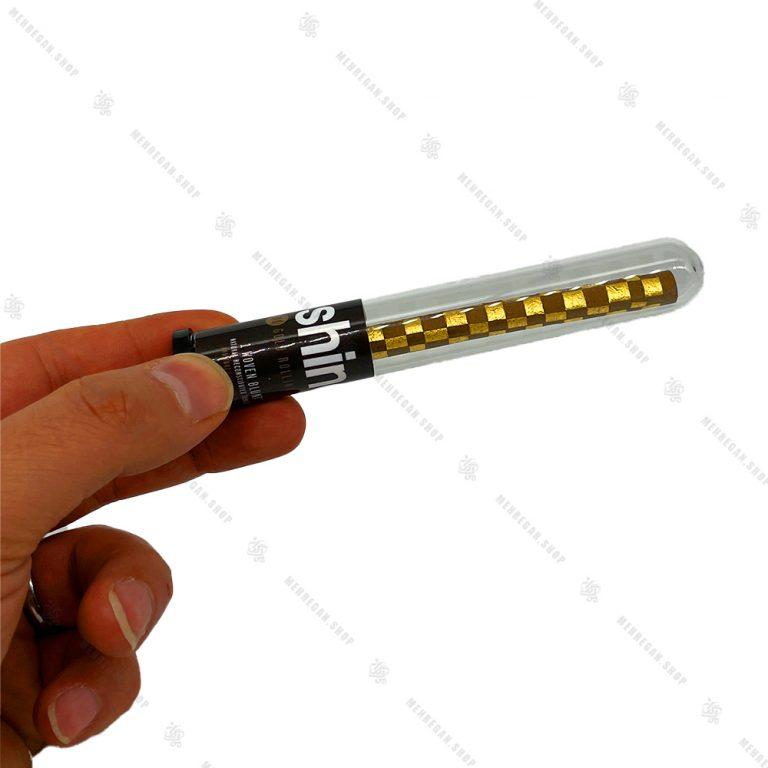 ورق سیگار برگ مدل شطرنجی ۲۴k شاین Shine