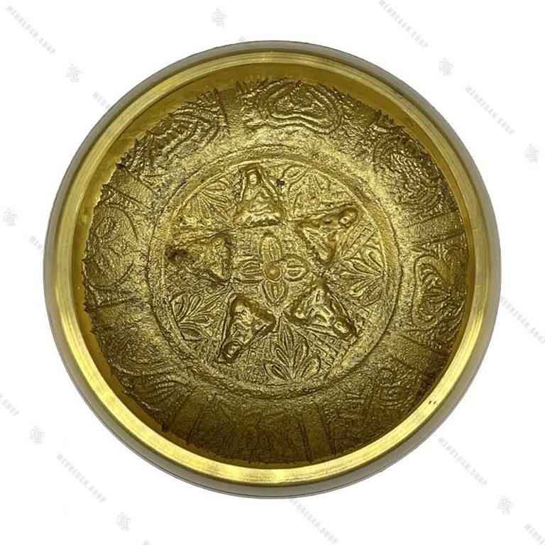 کاسه تبتی طلایی سایز ۱