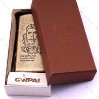 جعبه سیگار فلزی برنزی Guipai مدل چگوارا - CHE