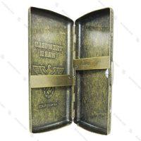 جعبه سیگار فلزی برنزی Guipai مدل جنگ جهانی دوم