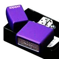 فندک زیپو Zippo مدل Purple Matte کد 237ZL
