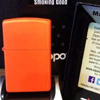 فندک زیپو Zippo مدل Orange Matte کد 231