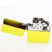 فندک زیپو Zippo مدل Yellow Matte کد 24839