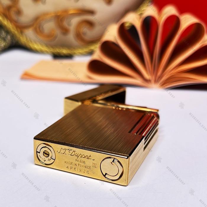 فندک اورجینال دوپونت مدل S.T Dupont SN-LIDP-2105-53 طلایی