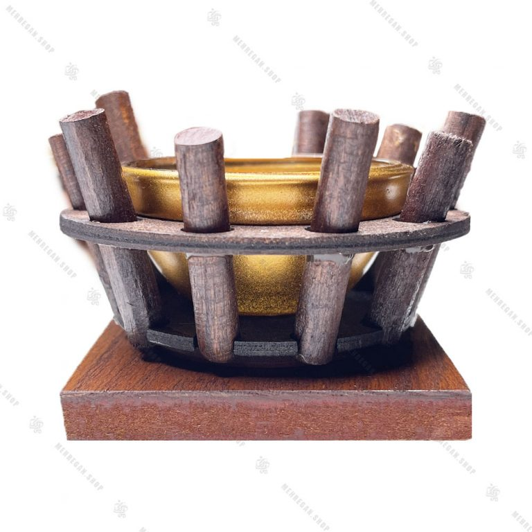 مجموعه ظروف هفت سین چوبی ۱۰ پارچه مدل سینی مربع