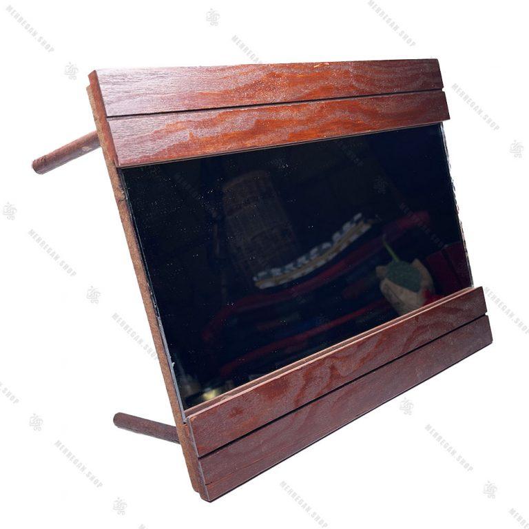 مجموعه ظروف هفت سین چوبی ۱۰ پارچه مدل سینی گرد