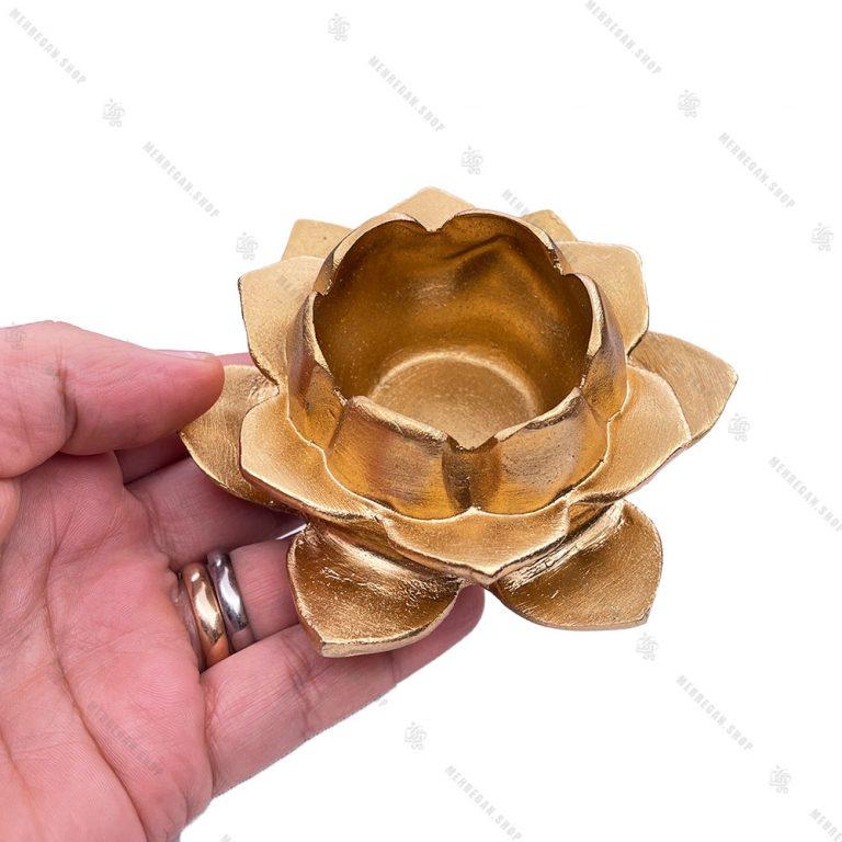 جاشمعی وارمر خور طرح گل طلایی