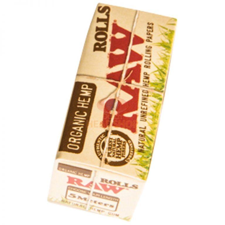 کاغذ سیگار پیچ رول ۵ متری RAW مدل ارگانیک نازک