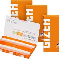 کاغذ سیگارپیچ گیزه GIZEH نارنجی بدون گوگرد