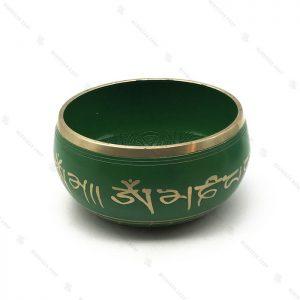 کاسه تبتی سبز سایز 4