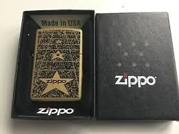 فندک زیپو Zippo مدل Planeta Zippo Star کد ۲۱۱۲۵