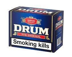 توتون سیگار دست پیچ درام Drum The Original آبی پررنگ