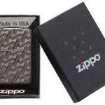 فندک زیپو Zippo مدل Geometric Weave Design