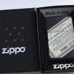 فندک زیپو Zippo مدل Planeta Quarantee کد 218
