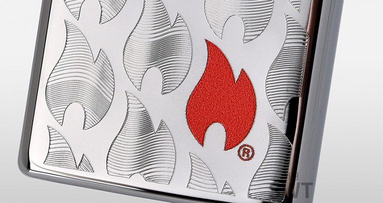 فندک زیپو Zippo مدل Zippo Flames Design کد ۲۹۶۷۸