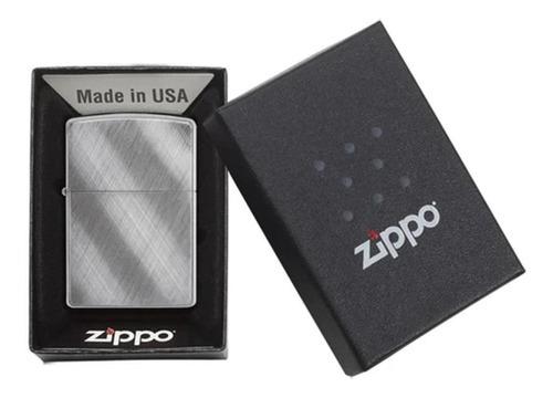 فندک زیپو Zippo مدل Diagonal Weave کد ۲۸۱۸۲