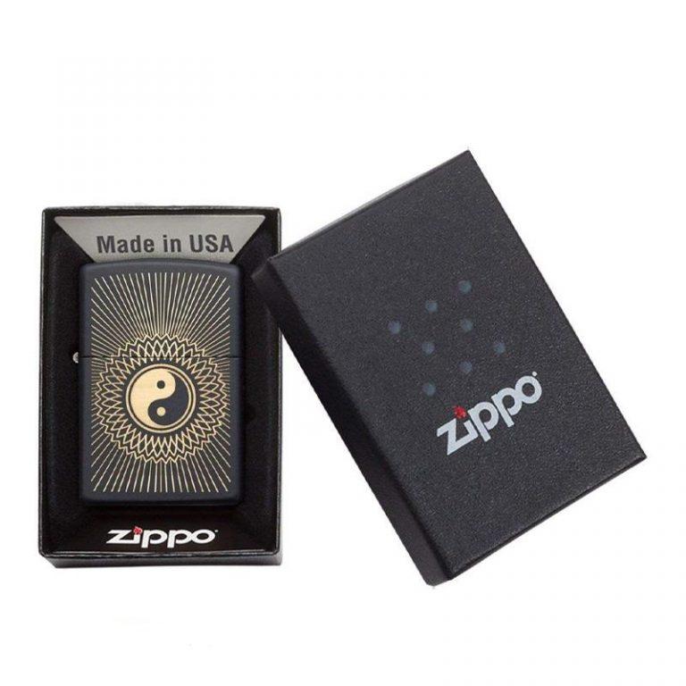 فندک زیپو Zippo مدل Yin Yang 2 کد ۲۹۴۲۳