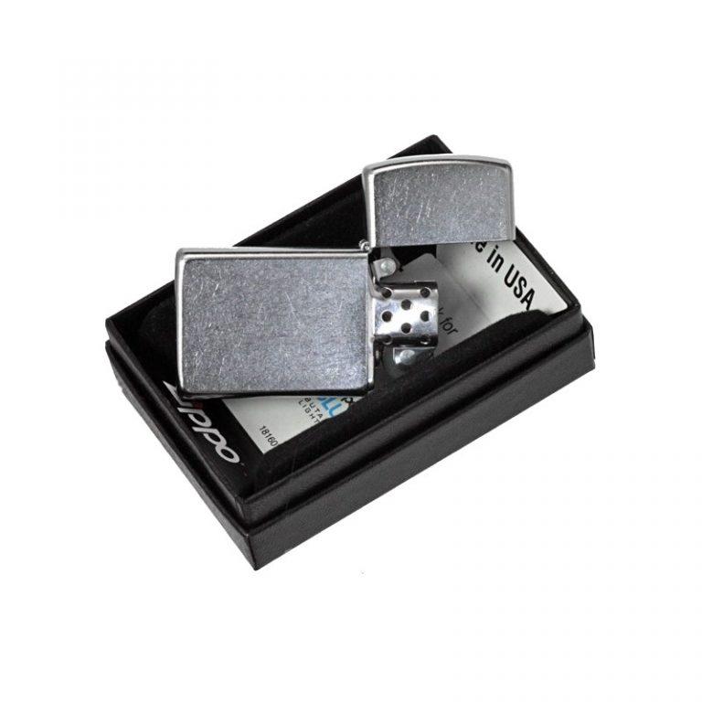 فندک زیپو Zippo مدل Slim Street Chrome کد ۱۶۰۷