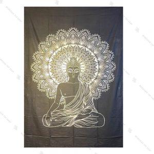 بک دراپ طرح ماندالا و بودا