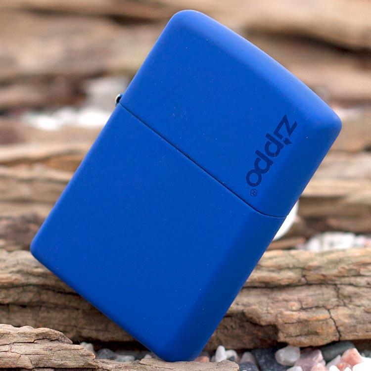فندک زیپو Zippo مدل ROYAL BLUE MATTE کد ۲۲۹ZL