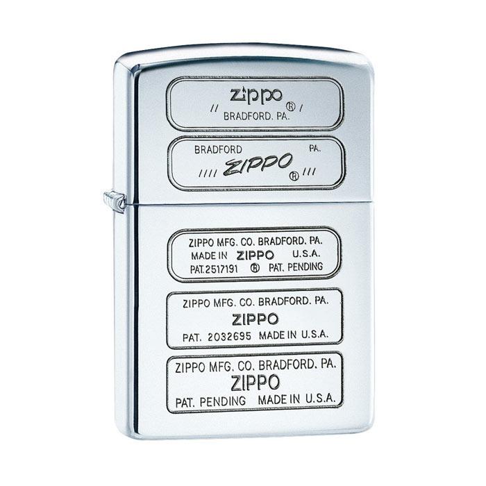 فندک زیپو Zippo مدل STAMPED کد ۲۸۳۸۱