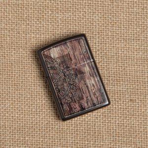 فندک زیپو Zippo مدل Wood Mandala کد 49180