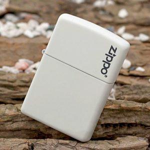 فندک زیپو Zippo مدل WHITE MATTE کد 214ZL