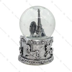 گوی برفی موزیکال طرح پاریس