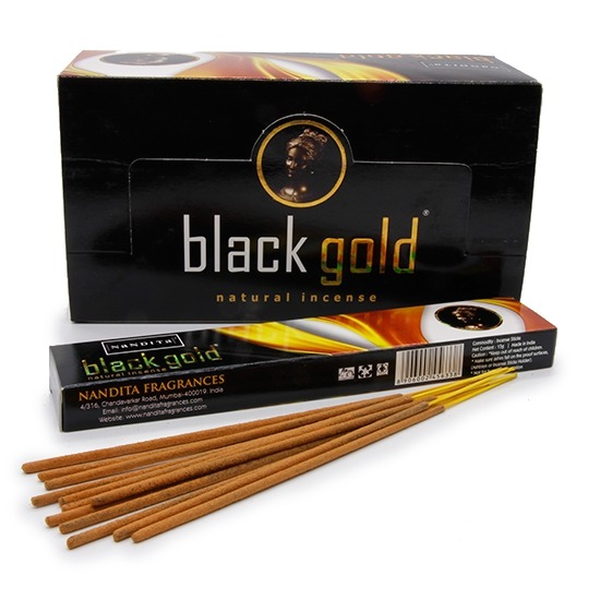 عود ناندیتا مدل Black Gold
