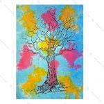 بک دراپ طرح درخت زندگی