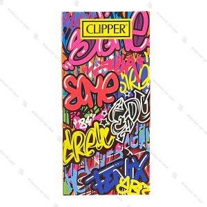 کاغذ سیگار کلیپر مدل Clipper Graffiti Wall