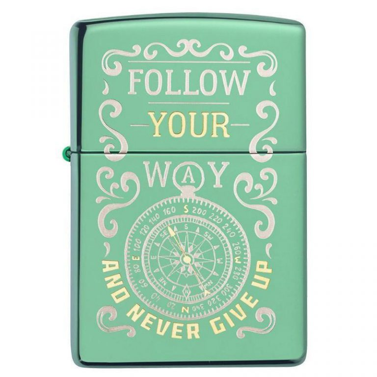 فندک زیپو Zippo مدل Follow Your Way کد ۲۸۱۲۹
