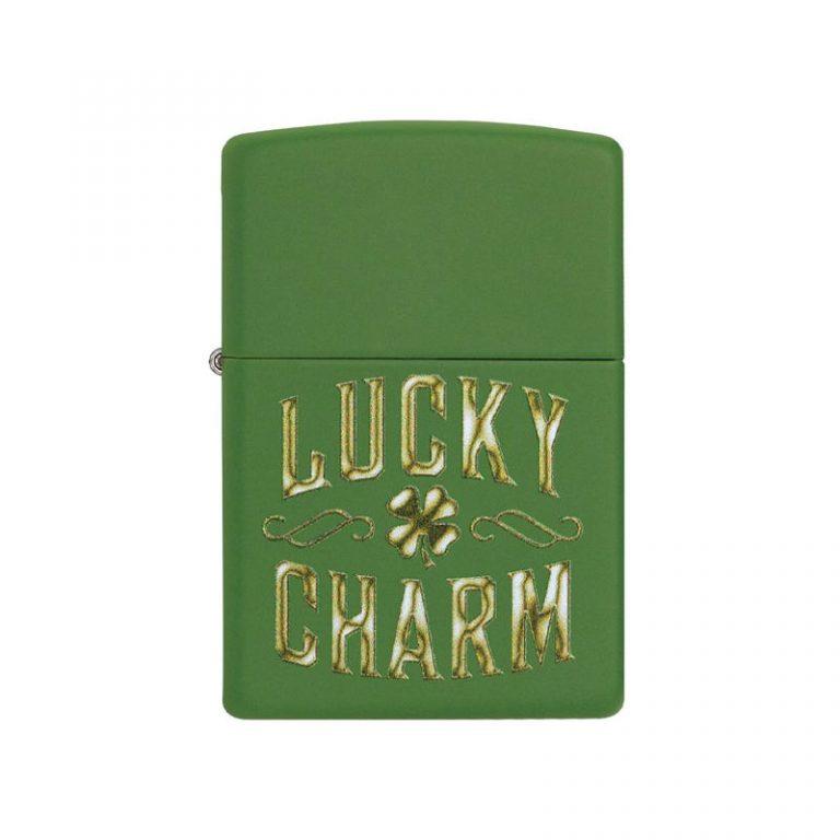 فندک زیپو مدل Lucky Charm Design کد ۴۹۱۳۸