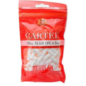 فیلتر سیگار دست پیچ کارتل Cartel Regular Filter Tips