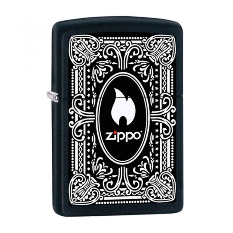 فندک زیپو مدل vintage design کد ۲۱۸